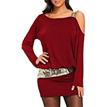 96fc74d04e98 Vestiti Donna Primaverile Autunno Mini Vestiti Unico Tempo Libero Vintage  di Moda Hipster Vestito Puro Colore
