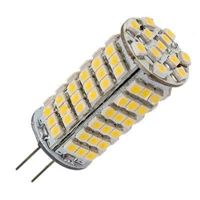 G4 102 SMD 3528 LED Glühbirne, DC 12V, Spotlight, 360 Grad, 6W, 510 LM, warmweiß