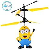 #3: FunBlast USB Rechargeable Remote Control Flying Minion Helicopter Toy