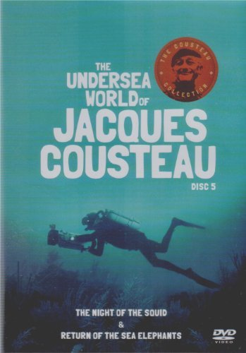 Undersea World Of Jacques Cousteau - Night Of The Squid & Return...