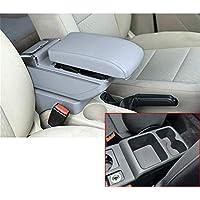 Para V olkswagen Golf 7 Auto Consola Central Apoyabrazos Reposabrazos Accesorios,Espacio de almacenamiento de