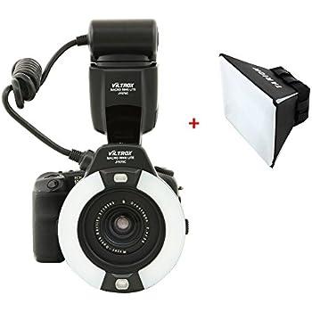 Viltrox Jy 670 Macro Ring Lite Amazon Co Uk Camera Amp Photo