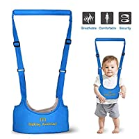 Zhongsheng® Babywalker Baby Toddler Walking Assistant Protective Belt Carry Trooper Walking Harness Learning Assistant Learning Walk Safety Reins Harness Walker Wings (Blue)