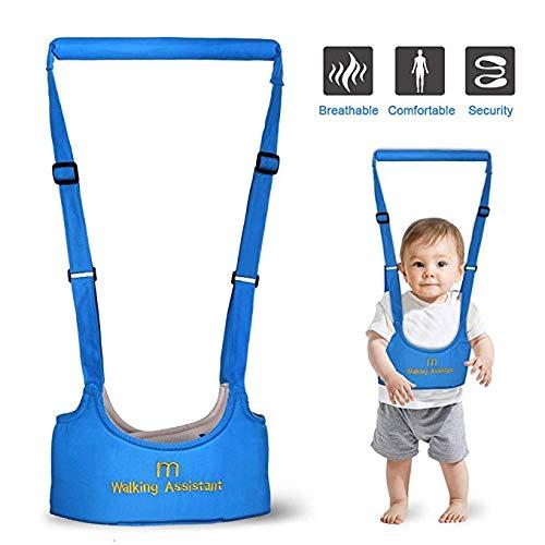 uflernhilfen Kinder Lauflernhilfe - Baby Toddler Parenting Walking Assistant Schutzgürtel Sicherheitsgurte Harness Walker Wings Gürtel Baby Antiverlust Gürtel (Blau) ()