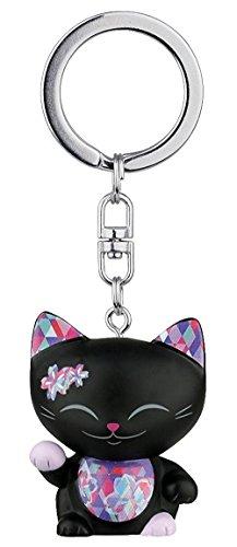 puerta-llave-gato-puerta-felicidad-mani-the-lucky-cat-negro-collar-parma
