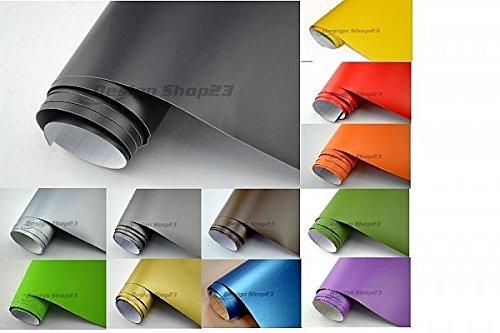 Preisvergleich Produktbild NEOXXIM PREMIUM - Auto Folie - MATT - WEISS - WEISS MATT 50 x 150 cm - blasenfrei mit Luftkanälen ca 0,15mm dick für Auto Folierung folieren bekleben
