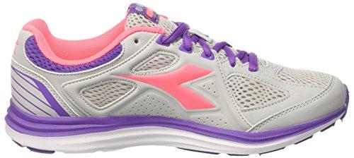 De Chiaro Viola Heron Gris W Running Femme Chaussures grigio Glicine 2 Diadora waxzqBnSIw