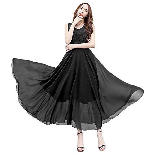 603fa9d86f Sunnyuk Vestidos Mujer Casual Largos Verano Vestidos de Fiesta Mujer Cortos  Elegantes.