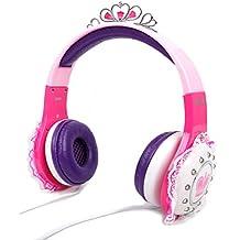 DURAGADGET Divertidos Auriculares De Princesa para Teclado Yamaha PSR-F50 / PSR-E253 /