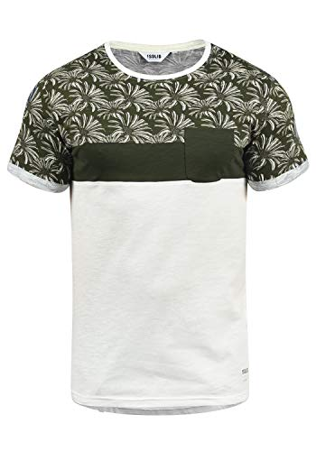 !Solid Florian Herren T-Shirt Kurzarm Shirt Rundhals-Ausschnitt aus 100% Baumwolle Meliert, Größe:M, Farbe:Rosin (3400) - Solid Color