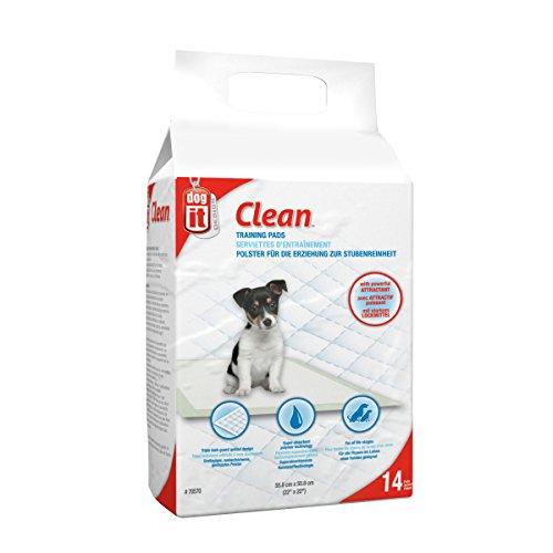 Dogit Trainingsunterlagen für Hunde, sehr saugstark, 14 Stück