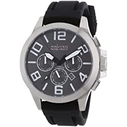 Nautec No Limit Men's Automatic Watch HALO HA AT/RBSTSTOR with Rubber Strap