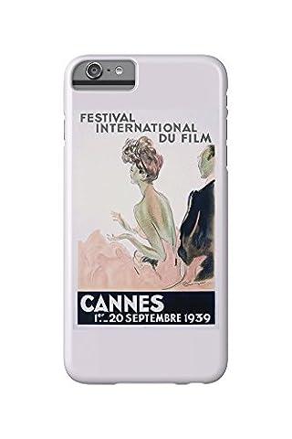 France - Cannes - Festival International du Film - 1939 - (artist: Domergue c. 1939) - Vintage Advertisement (iPhone 6 Plus Cell Phone Case, Slim Barely There)