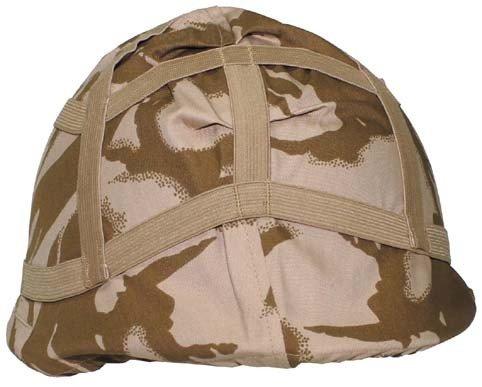 Brit. Helmbezug, DPM desert tarn, gebr.
