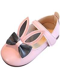 Amlaiworld Ragazze del bambino bowknot Mary Jane sandali piatti casual Suola in gomma scarpe