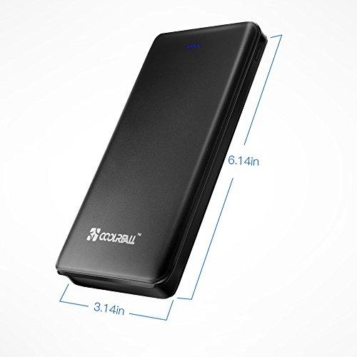 20000mAh-Caricabatterie-Portatile-Coolreall-Power-Bank-Batteria-Esterna-3-porte-USB-per-iPhone-iPad-Samsung-Huawei-Nexus-HTC-e-altro-smartphone-tablets-Nero