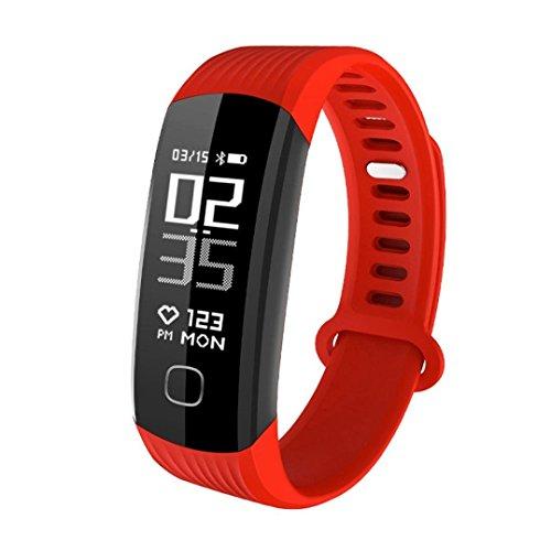 Wearfit R8 Pedometer Fitness Tracker (Red)