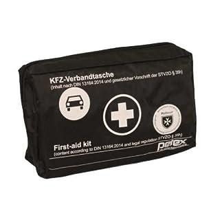 Autoteile Junge KFZ Verbandtasche Schwarz nach DIN 13164-2014