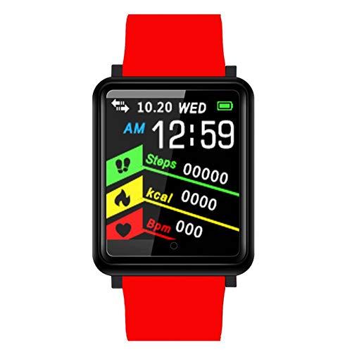 FSDRFRF Smart Uhr Neue Smart Watch Sleep Monitoring Übung Blutdruck wasserdichter Anruf -