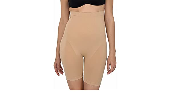 5aa15b1d29c GOLDEN GIRL Women s Synthetic Seamless Tummy Tucker Shapewear Body Shaper  for Gym (Waist To Thigh-12