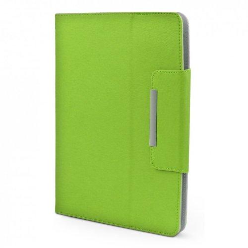 ROYALZ Hülle für Medion LifeTab X10607 (MD 60658) Tasche (10.1 Zoll) Schutz Case Cover Schutzhülle Schutztasche mit Aufsteller in hochwertiger Leder-Optik, Farbe:Grün