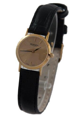 Bernex BN11607 - Reloj de pulsera mujer, oro amarillo, color dorado