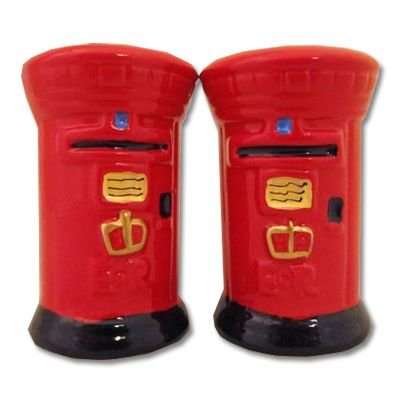 London Post Box Cruet Set - Salt & Pepper from Lamber