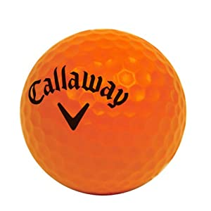 Callaway Soft Flight 18-Pack Golfball, Orange, One Size