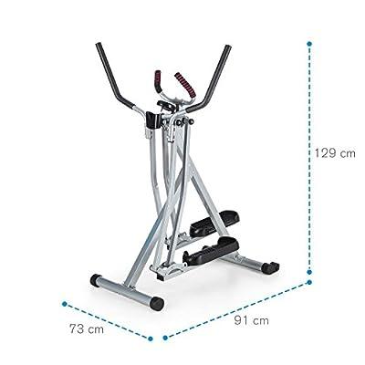 Capital Sport Crosswalker • Cross Trainer • Exercise Bike • Vertical and Horizontal Swinging Motion • Built-in Training Computer • Foam Padding • Beverage Holder • Foldable • Black + Silver by Capital Sport