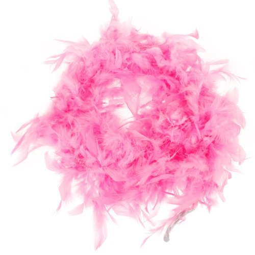 paaiter Pink Feather Boa Fluffy Craft Dekoration 6,6 Füße -