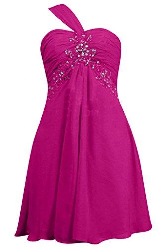 Sunvary elegante A spalle-Line Sweetheart Chiffon Prom abiti da damigella d'onore Inchiostro blu