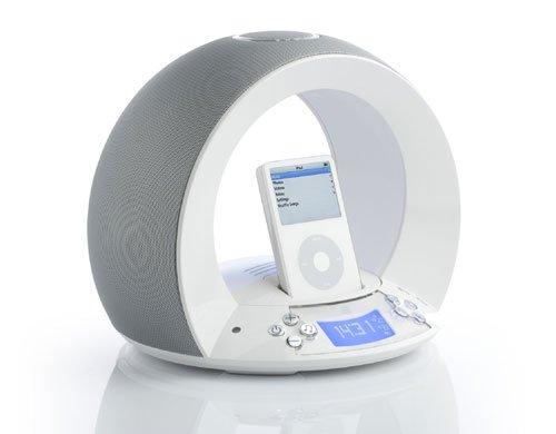 JBL on time Apple iPod Docking Station mit Radiowecker weiß