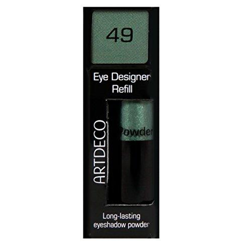 Artdeco Eye Designer Refill, Lidschatten, Nachfüllung, nr. 49, shiny moss green, 1er Pack (1 x 0.8 g)