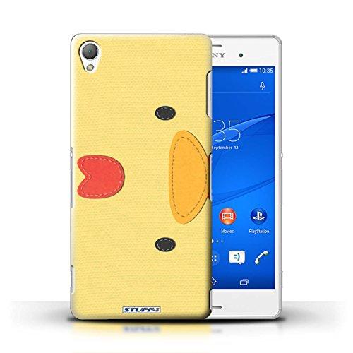 Kobalt® Imprimé Etui / Coque pour Sony Xperia Z3 / Tigre conception / Série Cousu des Animaux Effet Poulet
