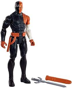 DC Justice League - Figura de acción Deathstroke, juguetes niños +3 años (Mattel GDT55)