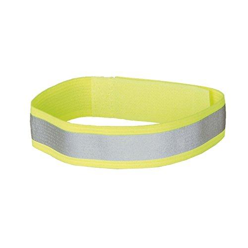 M-Wave Hose-/Armband Reflexband, gelb, One Size