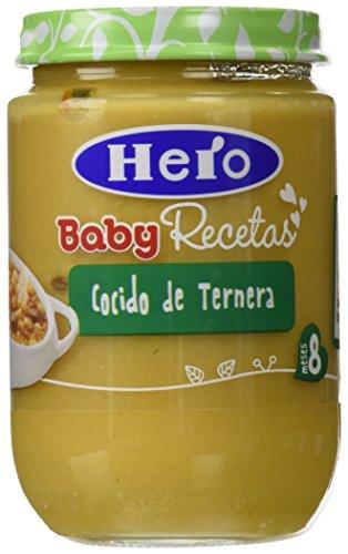 Hero Baby - Babyrecetas.Cocido Con Ternera 2 x 190 g - [pack de 3]