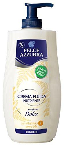 PAGLIERI - Felce Azzurra Crème corps nourrissante - 400ml (jaune)