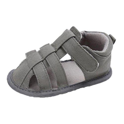OverDose Unisex-Baby weiche warme Sohle Leder / Baumwolle Schuhe Infant  Jungen-Mädchen-