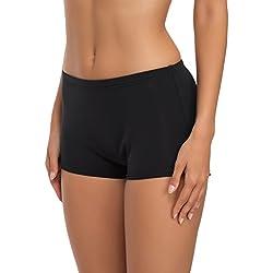 Merry Style Short de Bain Sport Vêtements d'Été Femme L23L1 (Noir (9240), EU 34 (FR 36))