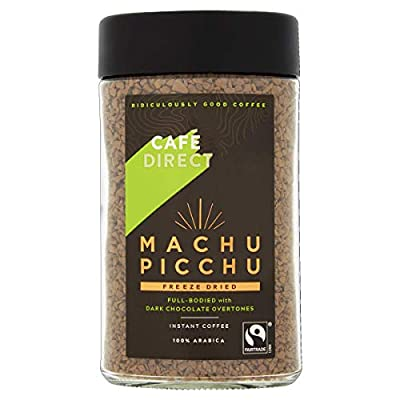 Cafédirect Fairtrade Machu Picchu Instant Coffee 100g, Pack of 2 from GroceryCenter