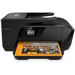 HP OfficeJet 7510 Imprimante Multifonction A3 Jet d'encre (15 ppm, 4800 x 1200 ppp, Wifi, Impression mobile, USB, RJ-11, Ethernet)