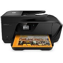 HP OfficeJet 7510 - Impresora multifunción, color negro
