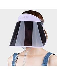 2ffc6a04aa Weiyue Sombrero- Sombrero para el Sol Mujer Protección Solar Protección UV  Visor de Viaje Ciclismo