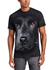 The Mountain - - Visage Homme Lab T-shirt noir