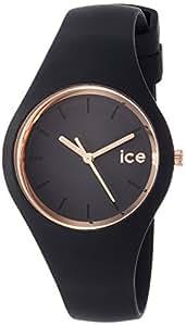Ice-Watch Glam Montre Mixte Analogique Quartz avec Bracelet en Silicone – 1616