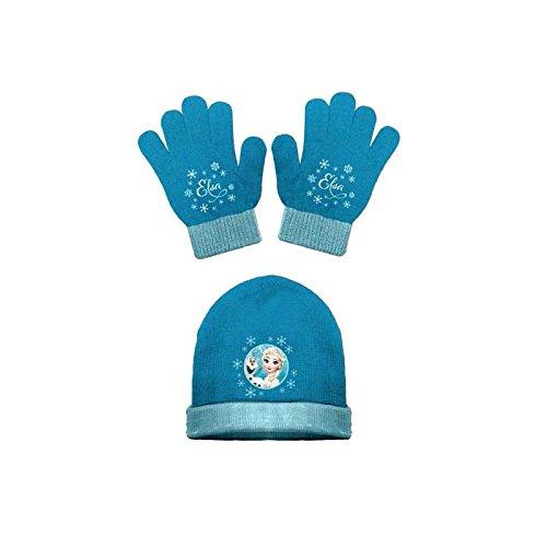 Bonnet et gants - La reine des neiges - Rose ou bleu