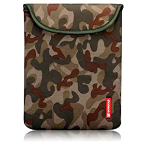 Apple iPad 3 Neoprene Pouch / Case / Cover / Skin By Shocksock - Camouflage