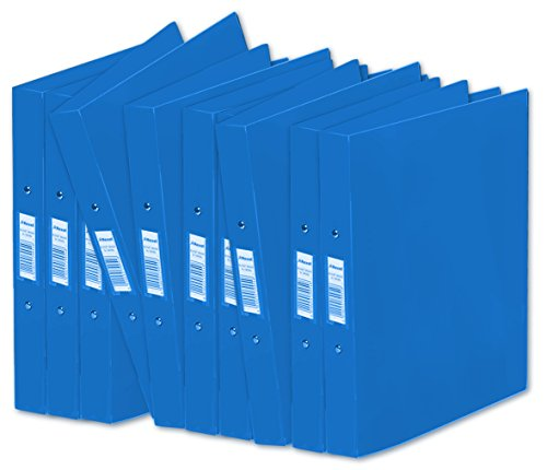 rexel-a4-budget-2-ring-binders-blue-pack-of-10