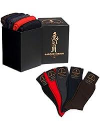 16f581a8f39 Amazon.fr   chaussette fil d ecosse - Homme   Vêtements